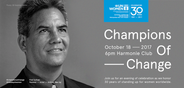 UN Women Champions Of Change Stand Up